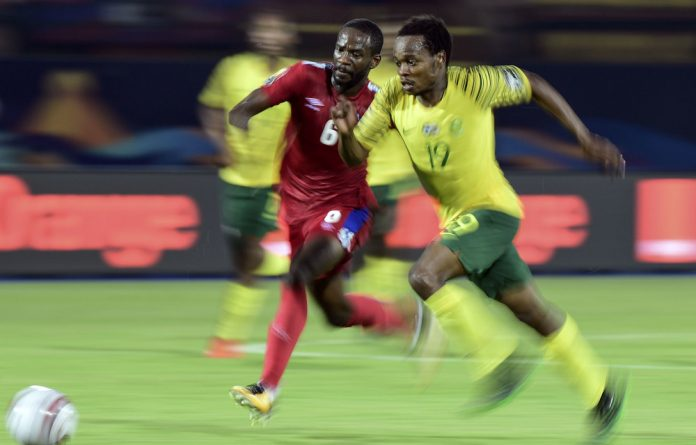 Succession planning: Bafana forward Percy Tau is South Africa's best player