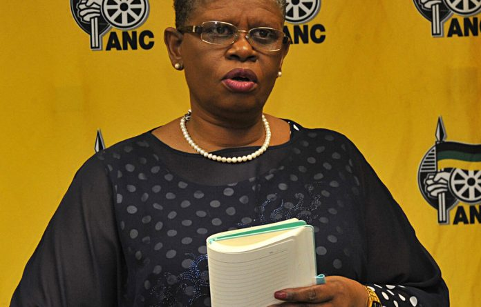 eThekwini ANC chairperson Zandile Gumede had previously resisted stepping aside after being arrested along with ANC deputy regional secretary and eThekwini speaker Mondli Mthembu.