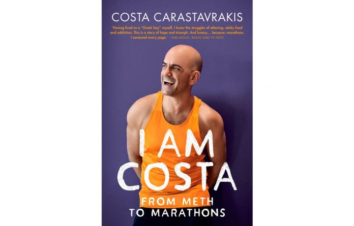 Costa Carastavrakis named his book after himself because he 'no longer needs a place to hide'