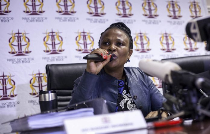 Busisiwe Mkhwebane directed was that Batohi must