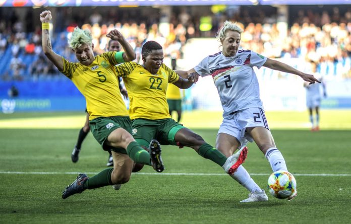Upper level: Although Banyana Banyana did not do well at the World Cup