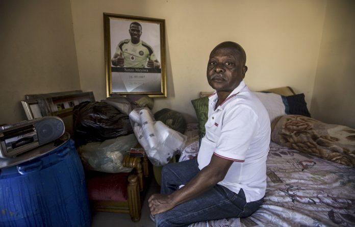 Heartbroken: Samuel Meyiwa