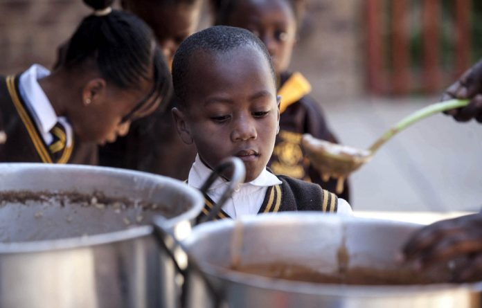 Many schoolchildren are in need of nutritional support