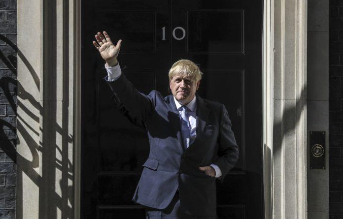 United Kingdom Prime Minister Boris Johnson.