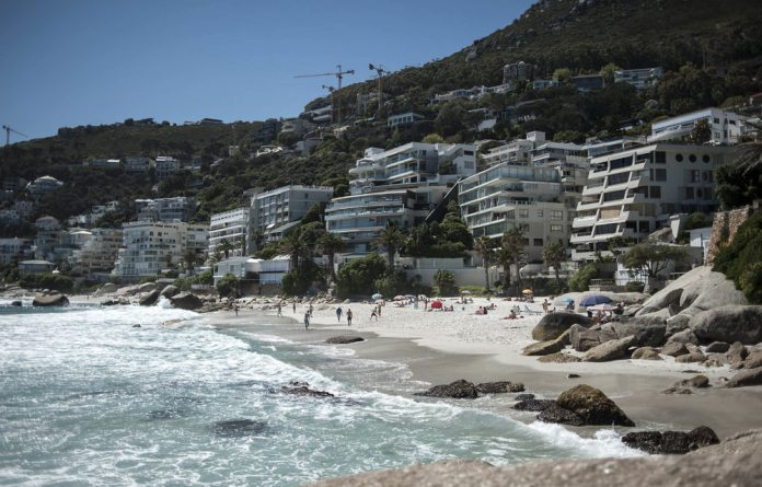 Clifton's second beach.