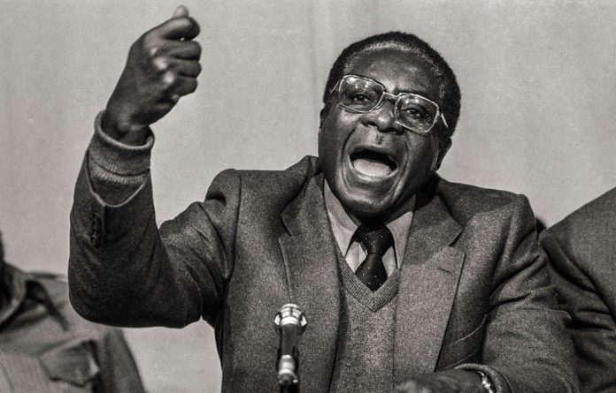 Pique: Robert Mugabe said in 1962 that 'Africa must revert to what it was before the imperialists divided it'.