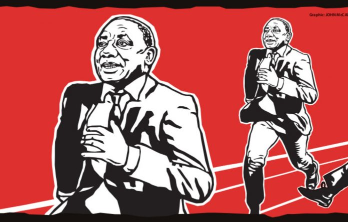 Keep running: The fantasy that Cyril Ramaphosa would play the role of the good king riding in from exile to restore virtue