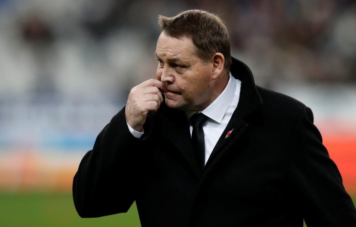 'Loving it': All Blacks coach Steve Hansen is revelling in the challenges of his job.