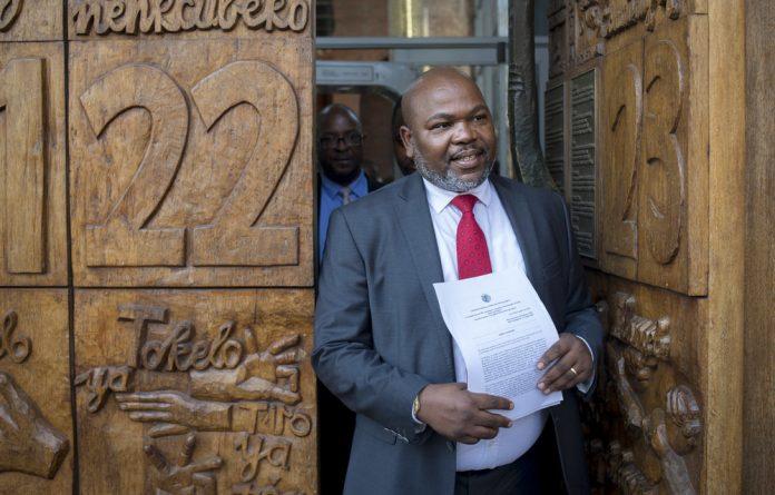 Former NDPP Mxolisi Nxasana.