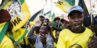 The company focused its efforts on ANC delegates who would choose the next president