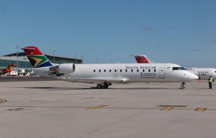 South African Express postponed 24 hours of flights on Wednesday.