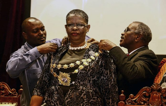 Zandile Gumede was placed on le​ave by the ANC provincial leadership after her arrest and a final decision from the party on whether or not to remove her from office is expected at a meeting of the PEC this weekend.