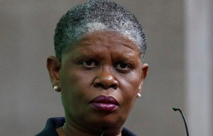 Former Durban mayor Zandile Gumede.