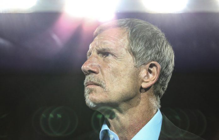 Stuart Baxter resigns as Bafana Bafana coach.