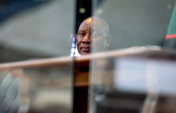 Ramaphosa is seeking to review and set aside the public protector's Bosasa report.