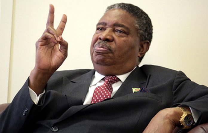 Former Zimbabwean vice-president
