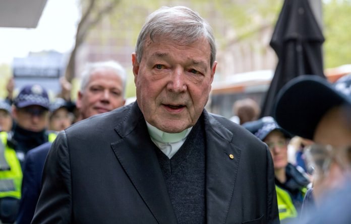 Cardinal George Pell was convicted in December of sexually abusing the two boys in 1996 and 1997 at St Patrick's Cathedral shortly after he was appointed Archbishop of Melbourne.