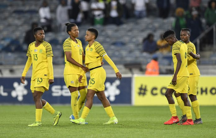 Ball ache: South Africa's loss to Botswana in the Olympic qualifier has put the future of South African women's football on a fragile footing.