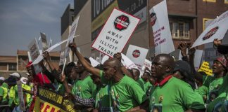 Toxic trade: The Food and Allied Workers Union has claimed that Big Tobacco