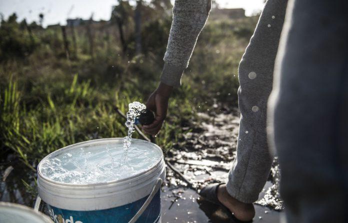 Worsening drought
