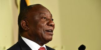 President Cyril Ramaphosa raised concerns about the high drop-out rate of learners who do not make it to matric.