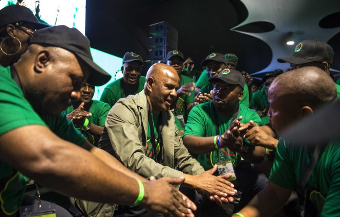 During his address of thousands of Amcu delegates on Thursday