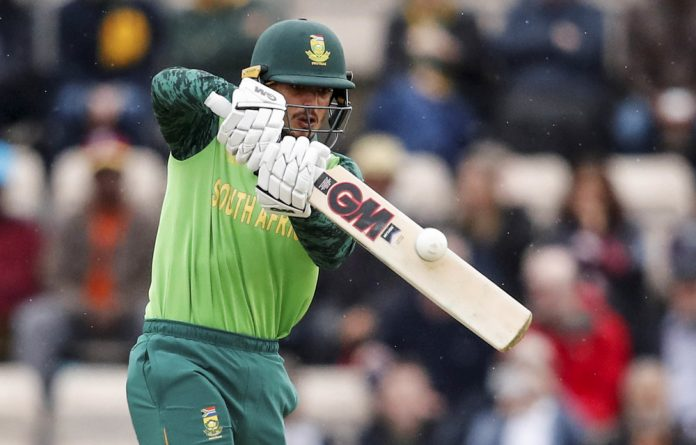 Stepping up: Wicketkeeper Quinton de Kock will captain the Proteas in their T20 series against India.