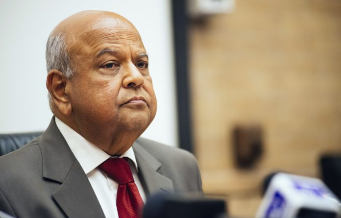 "Public Enterprises Minister Pravin Gordhan said that the EFF's persistence in the appeal is part of the party's ""ongoing political campaign against me."""