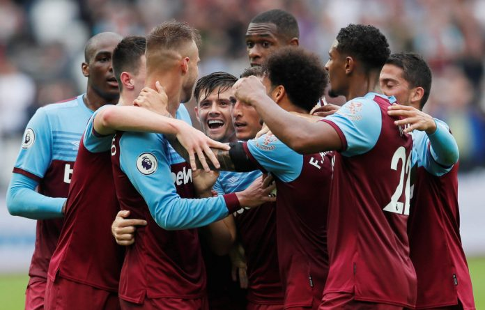 Hungry: West Ham United are gunning for a top spot in a league that is increasingly looking topsy-turvy.