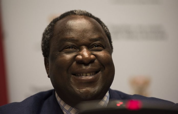 Man with a plan: South African Finance Minister Tito Mboweni
