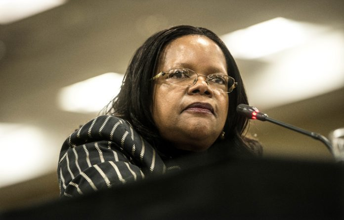 Measured approach: Constitutional Court Justice Zukisa Tshiqi works hard at keeping an open mind when presiding over cases in court.
