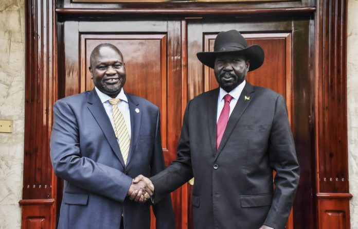 Truce: South Sudan's President Salva Kiir