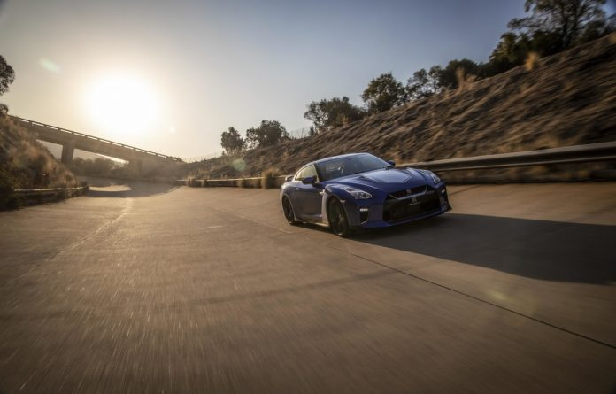 This Nissan GTR is violent. There really is no better adjective to describe this thing. It's scary — proper scary.