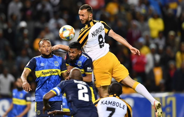 Rising high: Kaizer Chiefs have surprised many soccer fans with their near-perfect start to the Premier Soccer League season.