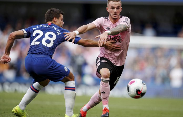 Key role: Leicester City's James Maddison