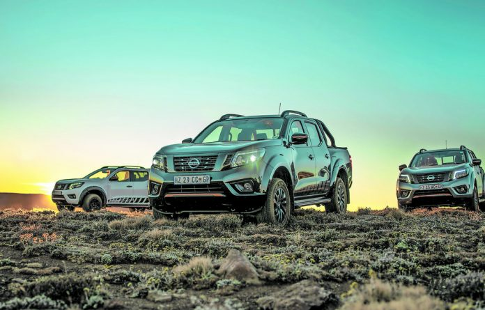 All dressed up: The Nissan Navara Stealth's bells and whistles may look smart in the city