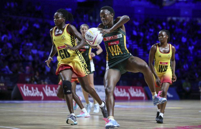 On the ball: Proteas captain Bongi Msomi