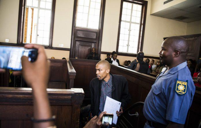 Kanya Cekeshe has been in Leeuwkop prison since December 2017