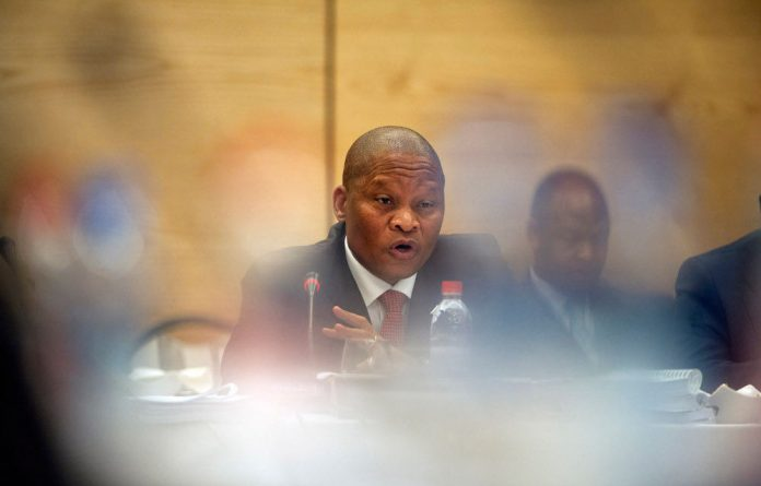 Chief Justice Mogoeng Mogoeng had to intervene during Limpopo high court judge Legodi Phatudi's interview when it became heated.