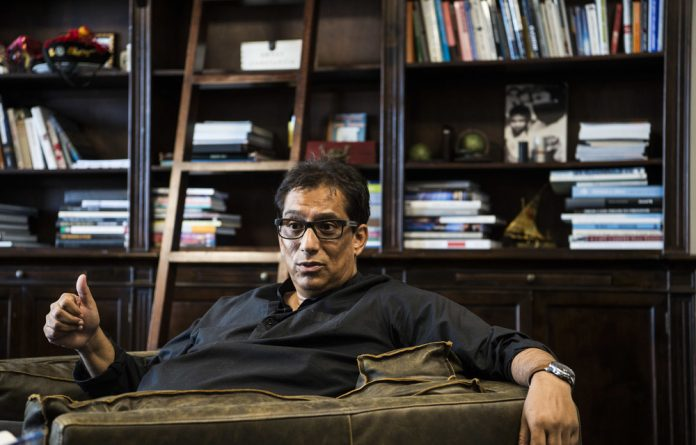 Pay back the money: Iqbal Survé says the thought of Independent Media collapsing gives him 'sleepless nights'.