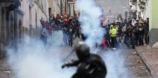 Protests illustrate the deeply seated divisions between indigenous groups and other sectors of the population in Ecuador.