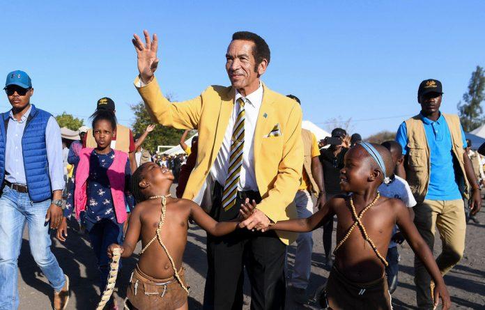 About-turn: Botswana's former president