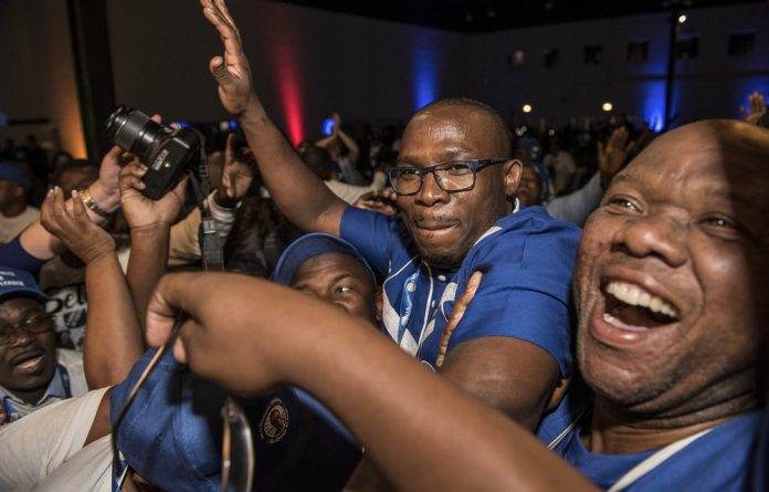 DAbacle: The Democratic Alliance's Western Cape leader Bonginkosi Madikizela has fighting colleagues on his hands.