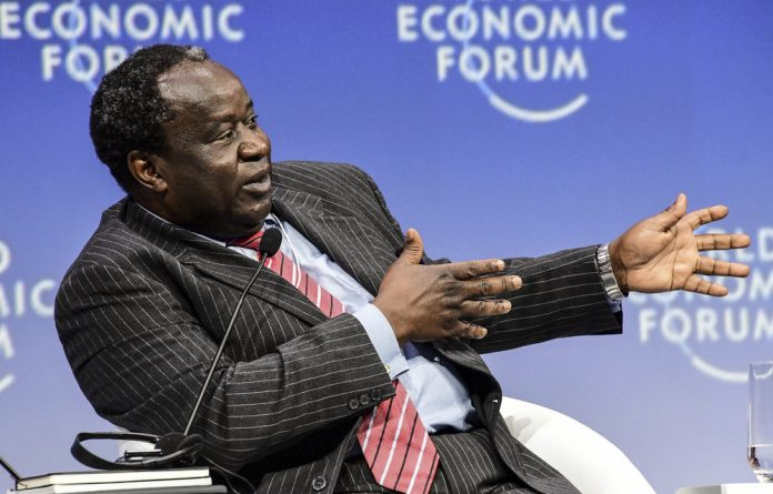 Main man: Finance Minister Tito Mboweni will deliver his medium-term budget policy statement in Parliament on Wednesday.