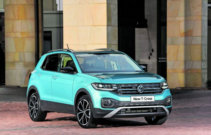 Instant attraction: The T-Cross will cause a stir among fans of its smaller Polo cousin