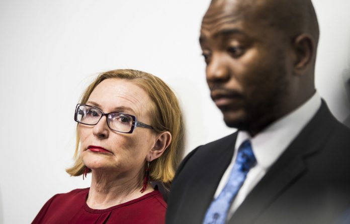 Byemane: DA federal chair Helen Zille and the party's former leader