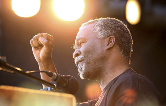 Former president Thabo Mbeki was scathing about the lack of clear positions from the South African government on what he identifies as today's most urgent foreign policy priorities.