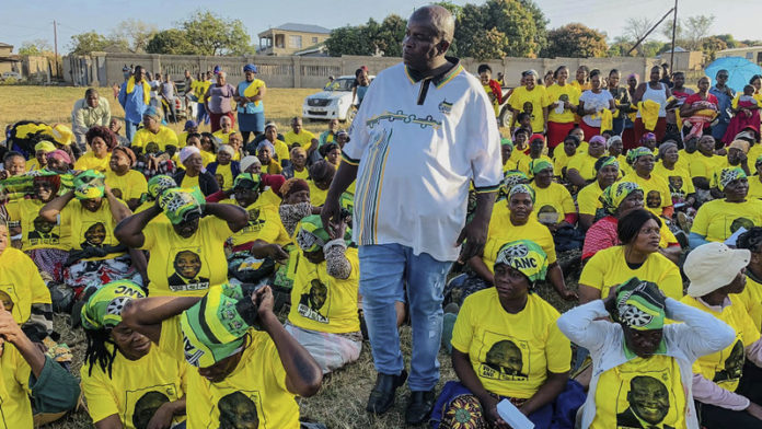 ANC leader doles out dosh ahead of elective conference
