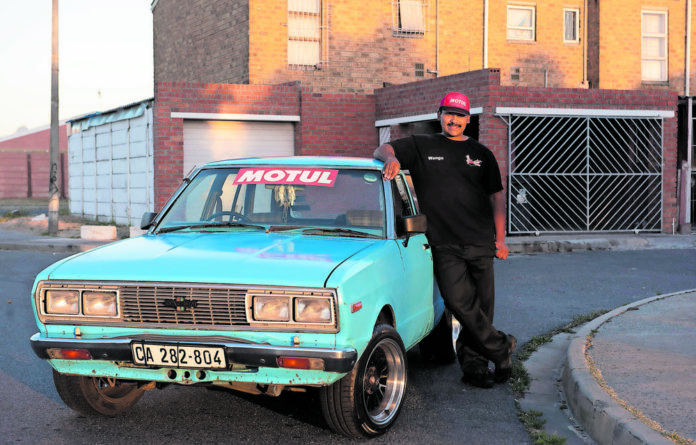 Simplicity: Datsuns run in Stuart Lingeveldt's blood. He drives a 1983 Stanza and his grandfather a Datsun 120Y.