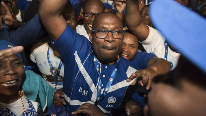 Madikizela quits DA leadership race